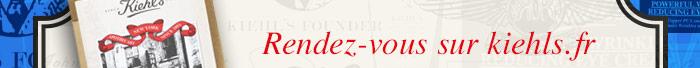 Rendez-vous sur kiehls.fr
