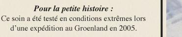 Pour la petite histoire : Ce soin a été testé en conditions extrêmes lors d'une expédition au Groenland en 2005.