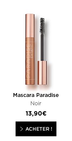Mascara Paradise - Noir - 13,90€ - > ACHETER !